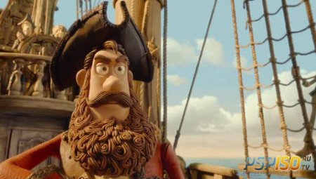 ������! ����� ����������� / The Pirates! Band of Misfits (2012) DVDRip