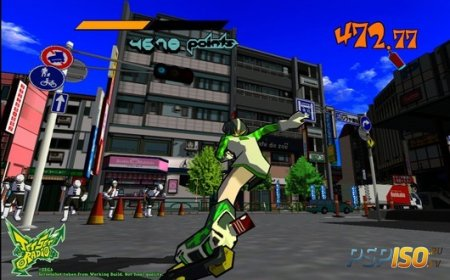 Jet Set Radio HD появится в PSN осенью