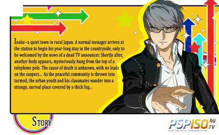 Persona 4 Golden - USA