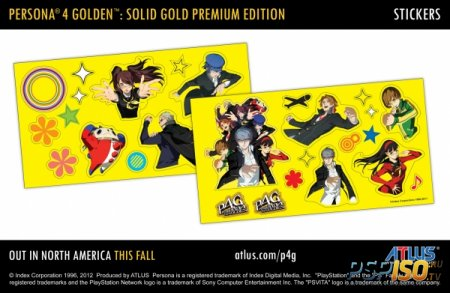 Persona 4 Golden 'Solid Gold Premium Edition'