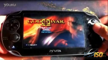 Запуск игры God Of War 2 с PlayStation 2 на PS Vita
