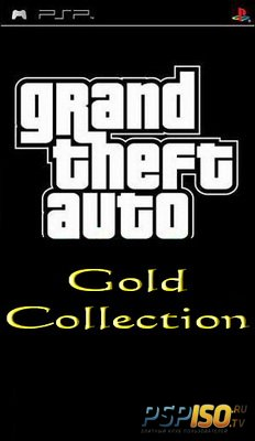 Grand Theft Auto Gold Collection (PSP/RUS)