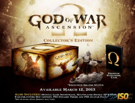 God of War: Ascension Collector's Edition - шикарный набор