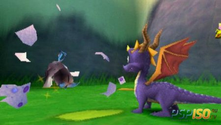 Spyro 3 Year of the dragon (PSX-PSP/RUS)