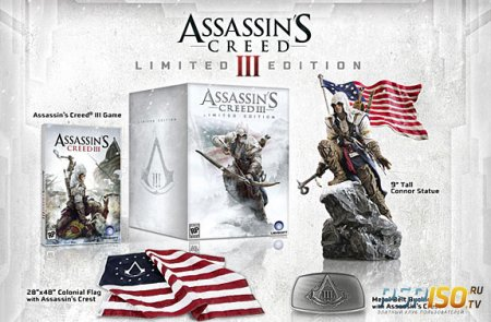 Анбоксинг Assassin's Creed 3