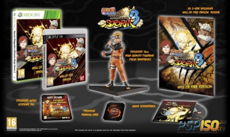 Narutimate Storm 3 Limited Edition для Европы.
