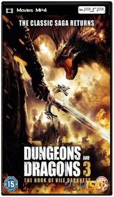 Подземелья и драконы 3 / Dungeons & Dragons: The Book of Vile Darkness (2012) DVDRip