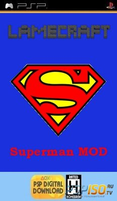 LameCraft Superman Mod 0.2  [HomeBrew]