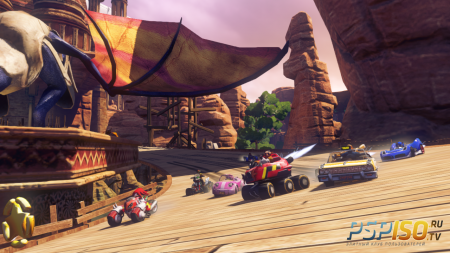 Sonic & All-Stars Racing Transformed - новые скриншоты