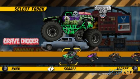 Monster Jam: Urban Assault (PSP/RUS)