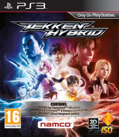[PS3] Tekken Hybrid [us] 3.55 kmeaw [FULLRip]