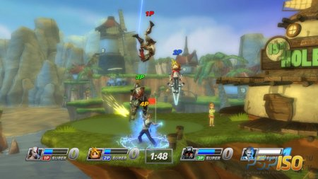 60 секунд рекламы игры PlayStation All-Stars Battle Royale