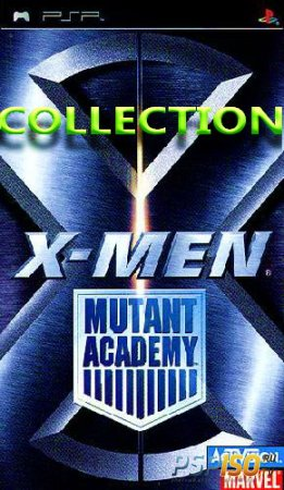 X- Men: Mutant Academy Collection (PSP/PSX/RUS)