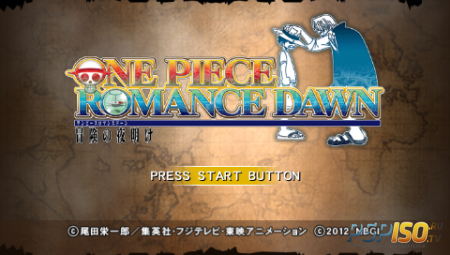 One Piece: Romance Dawn - Bouken no Yoake (PSP/JAP/ENG)
