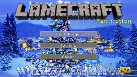 LameCraft Redstone Mod. Winter Edition  [HomeBrew]