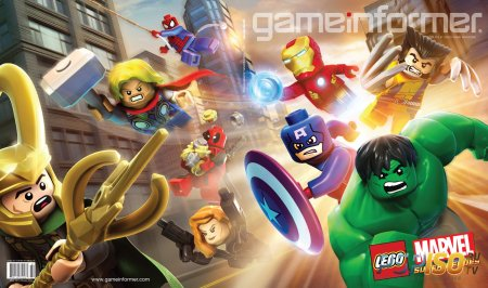 ������ ����� � ���������� Lego Marvel Super Heroes