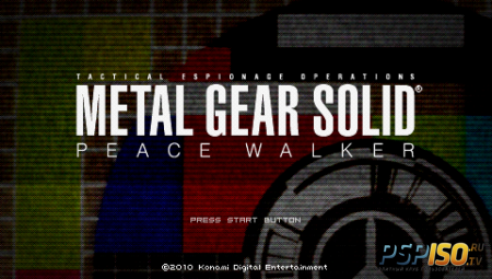 Metal Gear Solid Peace Walker + DLC (PSP/ENG)