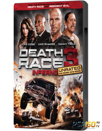 ����������� ����� 3 [UNRATED] / Death Race: Inferno (2013) HDRip