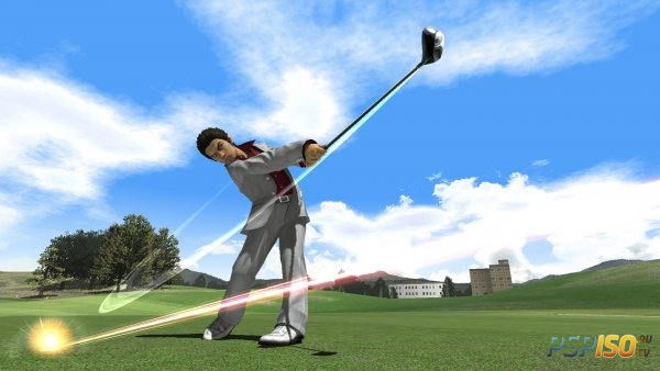 Kazuma Kiryu пришёл в Hot Shots Golf: World Invitational
