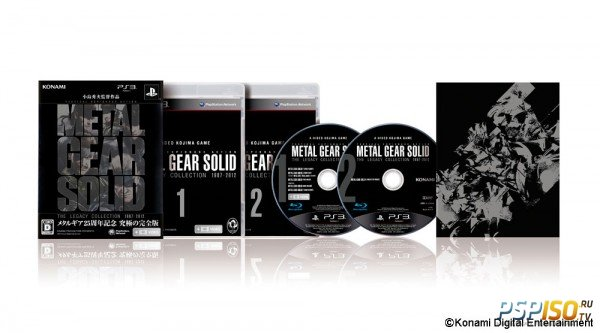 Metal Gear Solid: The Legacy Collection - анонсирован в Японии