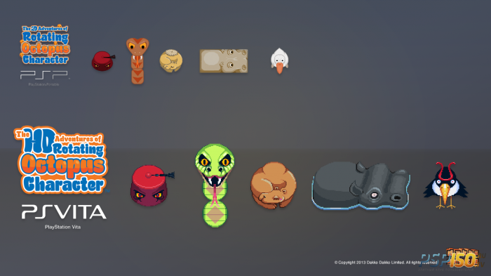 The HD Adventures of Rotating Octopus Character ��� PS Vita