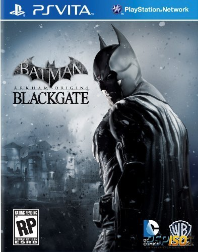 Box art игры Batman: Arkham Origins Blackgate для PS Vita