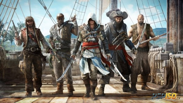 Assassin's Creed IV E3 трейлер и скриншоты