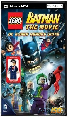 LEGO: Бэтмен / LEGO Batman: The Movie - DC Super Heroes Unite (2013) HDRip
