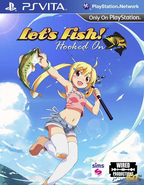Let's Fish Hooked On - аниме-рыбалка для PS Vita