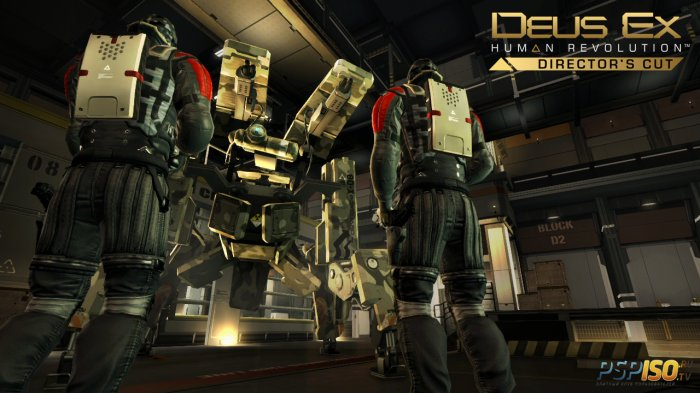 Deus Ex: Human Revolution Director's Cut выйдет на PS3