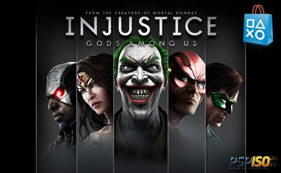 Injustice Gods Among Us GOTY для PS Vita?