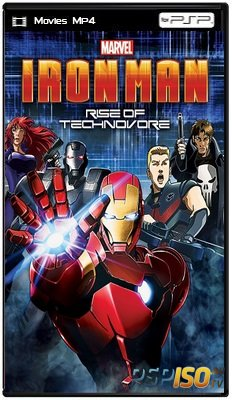 �������� �������: ��������� ��������� / Iron Man: Rise of Technovore (2013) �DRip