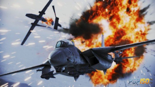 Ace Combat Infinity 'Create New Skies' тизер трейлер