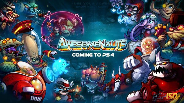 Awesomenauts выйден на PlayStation 4