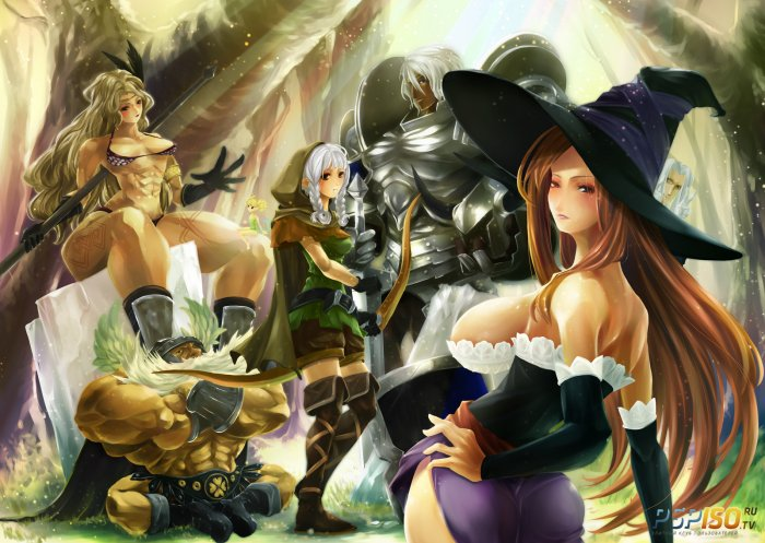 �������� � �������������� � ������� Dragon's Crown