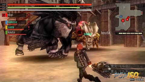 God Eater 2 [FULL][ISO][JPN][2013]