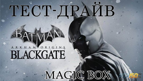 Batman Arkham Origins Blackgate на PS Vita HD
