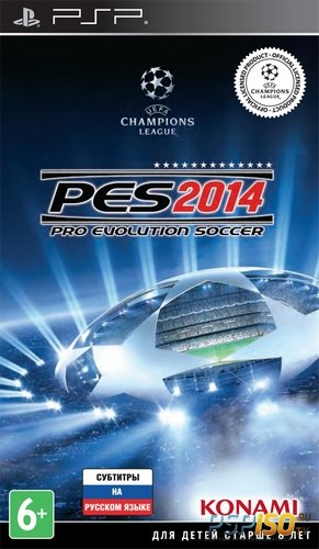 Pro Evolution Soccer 2014 [RUS][FULL][ISO][2013]