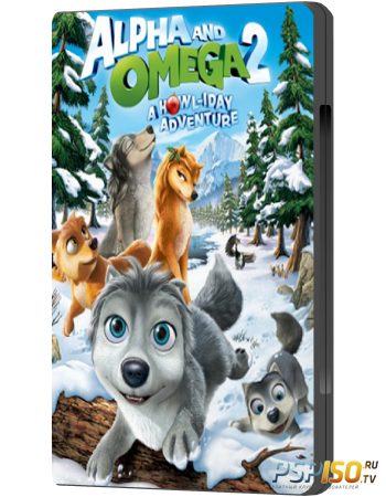 ����� � �����: ����������� ������������ ��� / Alpha and Omega 2: A Howl-iday Adventure (2013) HDRip