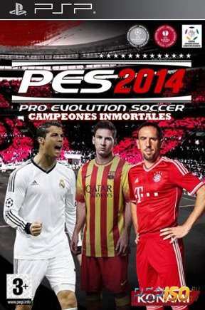 Pro Evolution Soccer 2014 Campeones Inmortales [RUS][Full][ISO][2013]