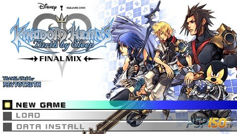 Kingdom Hearts Birth by Sleep Final Mix [ENG/v1.0.12][FULL][ISO][2011]