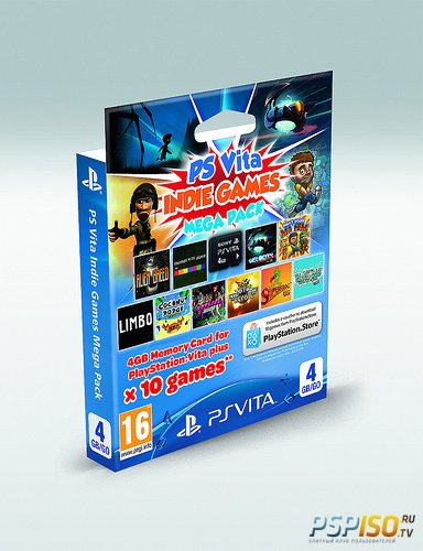 Sony ������������ ����� ����� PS Vita - Indie Mega Pack