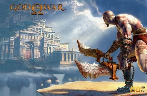 Геймплей God of War Collection