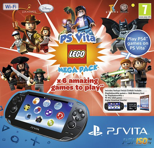 Новый бандл PS Vita - LEGO Mega Pack