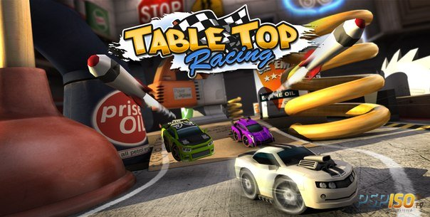 Table Top Racing выйдет на PlayStation Vita