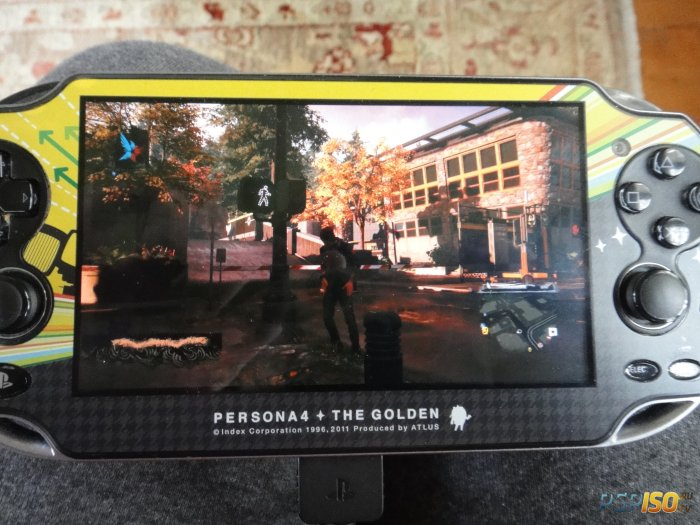 Запуск inFamous: Second Son на PS Vita