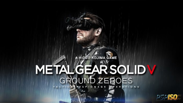 Демонстрация запуска Metal Gear Solid V: Ground Zeroes на PS Vita