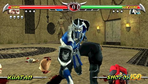 Mortal Kombat: Unchained [ENG][FULL][ISO][2006]