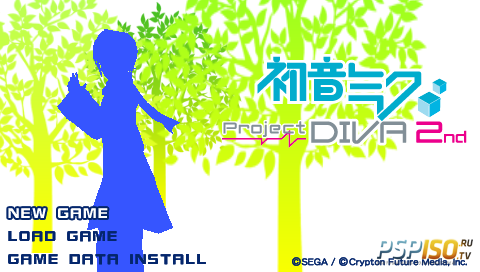 Hatsune Miku: Project Diva 2nd [ENGv.2.8a][FULL][ISO][2011]