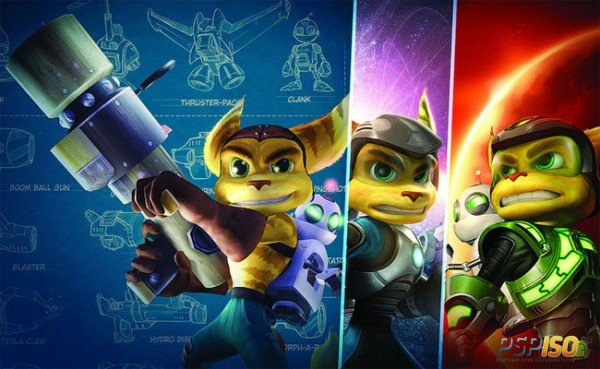 Ratchet & Clank Trilogy HD выйдет на PS Vita